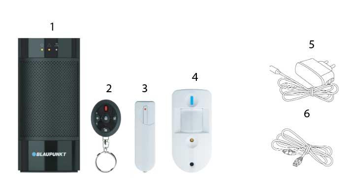 kit blaupunkt alarma q3200
