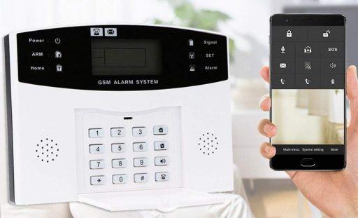 OWSOO Alarma Inalámbrica GSM SMS 433MHz